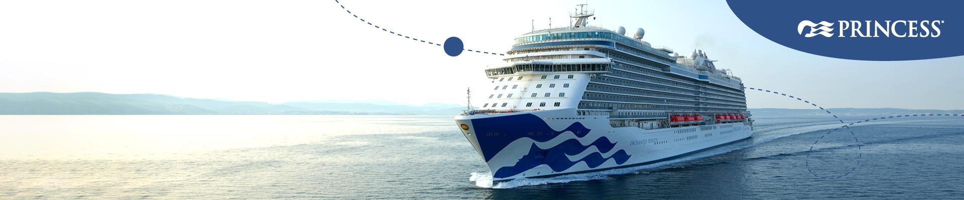 ¡Enchanted Princess se une oficialmente a la flota de Princess Cruises!