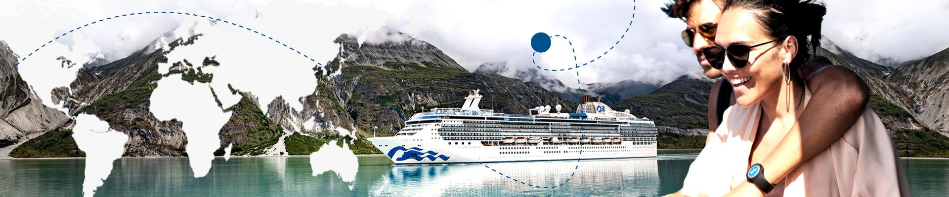 ¡Gran vuelta al mundo 2023 a bordo de Island Princess!